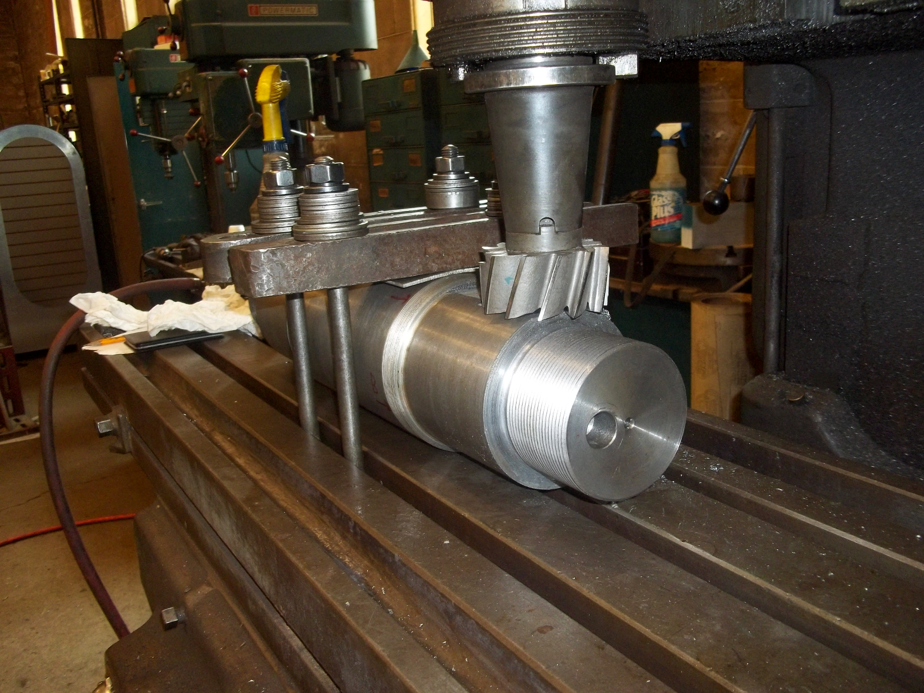 Verticle Milling